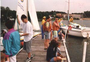 1998 – Rozpoczęcie sezonu żeglarskiego